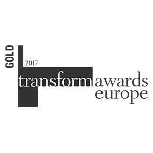 Transform Awards Europe 2017 – Gold winners IE Brand with University of Reading and Cranfield University