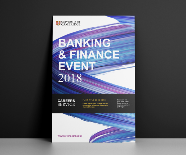 Careers Service flyer: Banking and Finance Event