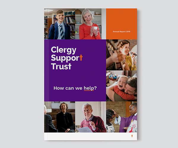 Clergy Support Trust branded annual report