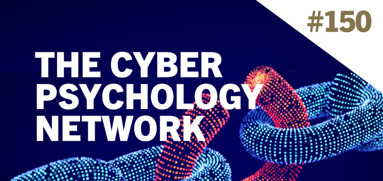 Campaign image for the British Psychological Society's 'Cyber Psychology Network'