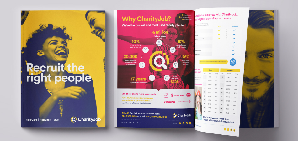 New brand for Charity Job recruitment site