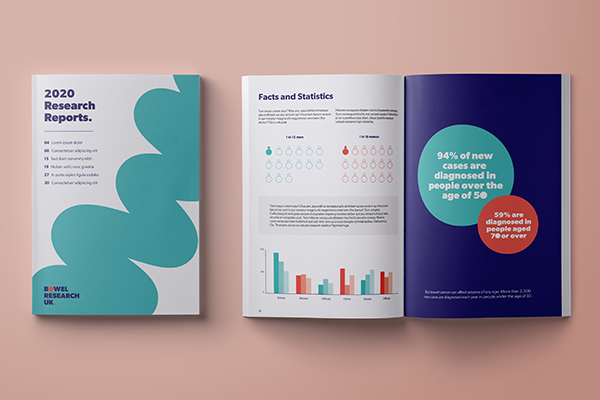 Bowel Research UK branding