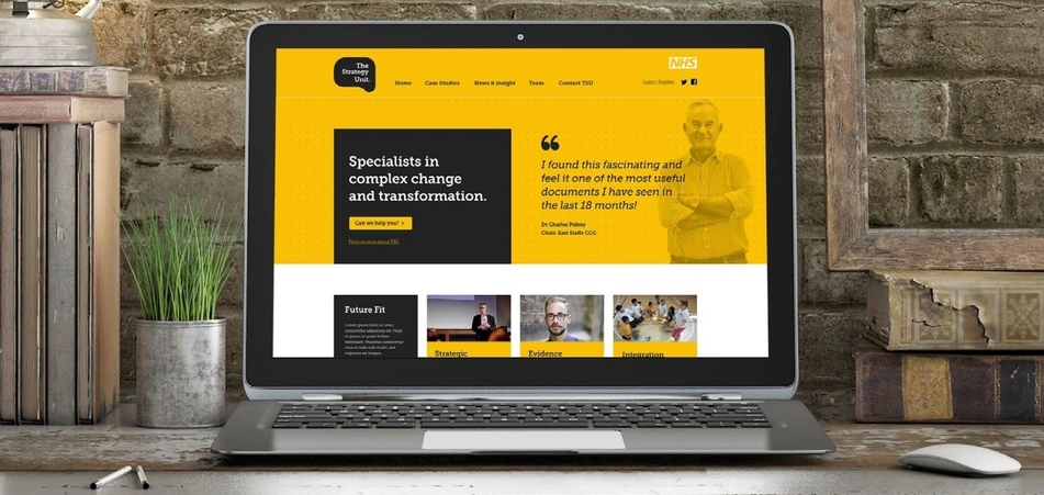 The Strategy Unit – new NHS brand and website