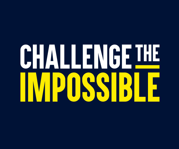 "Teach First ""Challenge the Impossible"" campaign logo"