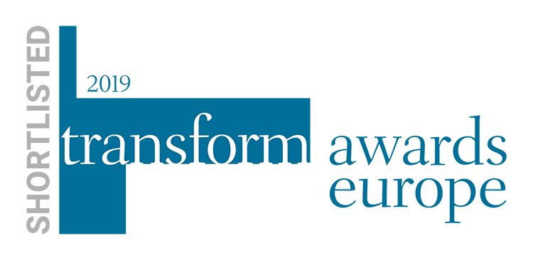 IE shortlisted for Transform Awards Europe, 2019