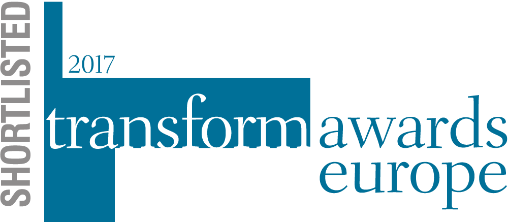 Transform Awards Europe – Shortlisted logo