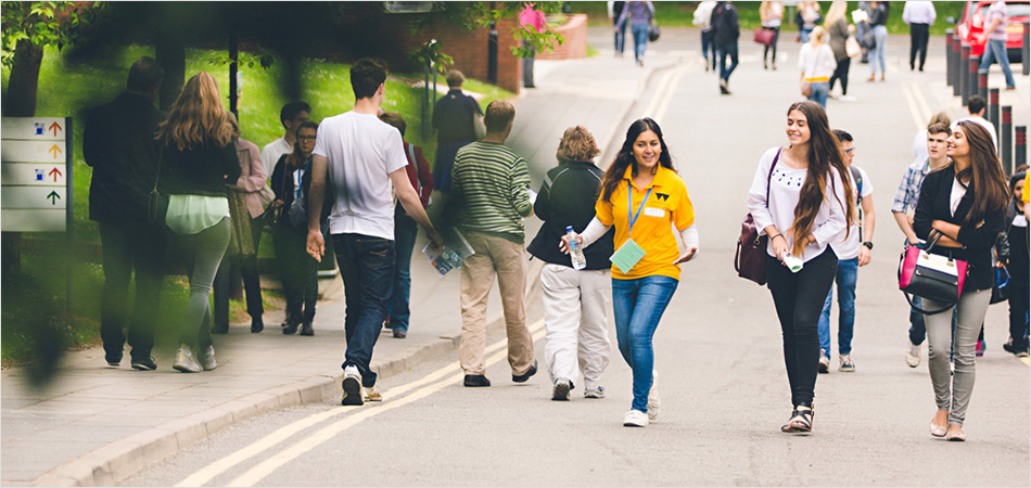 University of Warwick students on campus