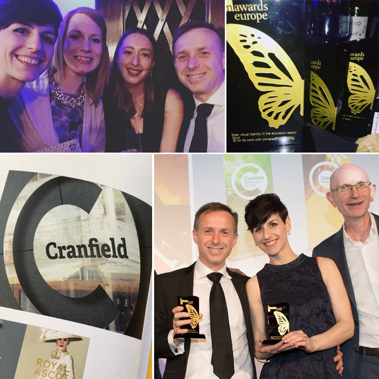 IE Brand and Cranfield University win Gold at Transform Awards for brand architecture