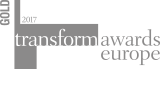 Transform Awards Europe Gold Winners logo