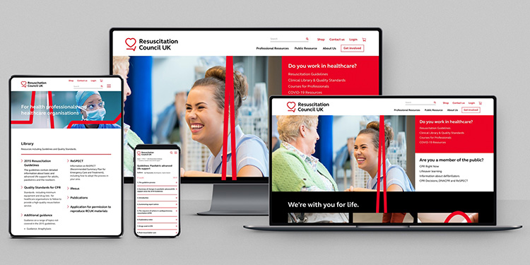 New Resuscitation Council UK branding