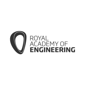 Royal Academy of Engineering (RAEng) logo in grey