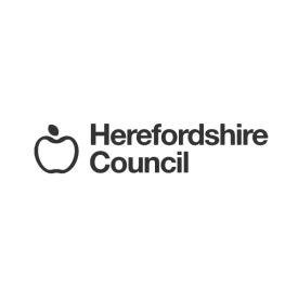 Herefordshire Council logo (grey)