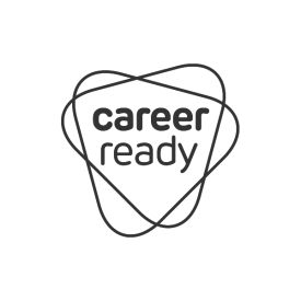 Career Ready charity logo designed by IE Brand (grey)