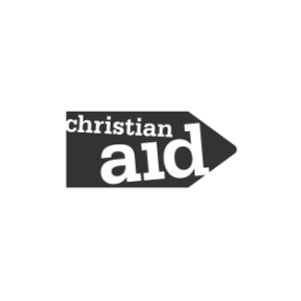 Christian Aid logo (grey)