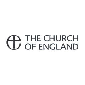 The Church of England logo (grey)