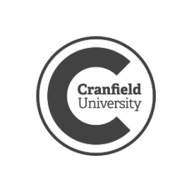 Cranfield University logo (grey) by IE Brand