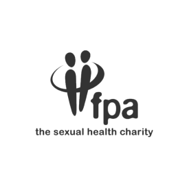 FPA Family Planning Association logo in grey