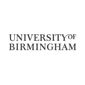University of Birmingham logo (grey)