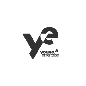 Young Enterprise logo - YE in grey