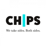 CHIPS charity logo design by IE Brand