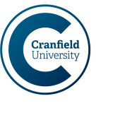 Cranfield University logo by IE Brand